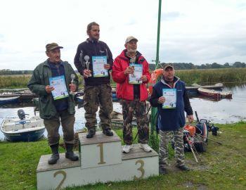 Spinningowe mistrzostwa Koła II tura 07.10.2017  Strzyże