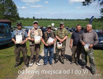 I tura Spinningowych Mistrzostw Koła 19.05.2018  Strzyże