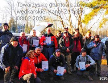Towarzyskie zawody gruntowe w Aleksandrowie 08.02.2020.
