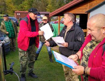 Zawody spinningowe o Puchar Prezesa Koła 02.10.2021 Strzyże.