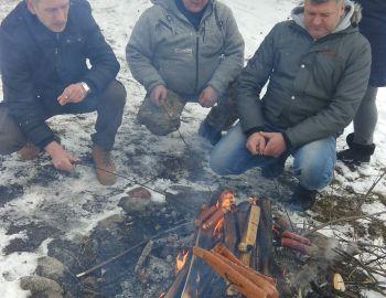 Powitanie nowego sezonu - przywitanie ferii ognisko 26.01.2019.