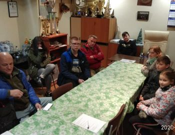 Spotkanie Szkółki Młodzieżowej z instruktorami.